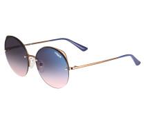 Sonnenbrille blau / bronze