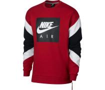 Sweatshirt dunkelrot