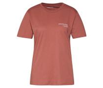Shirt 'Stanley Logo' braun