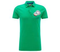 Polo Shirt grün