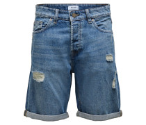 Jeansshorts 'ONSAvi' blau