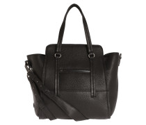 Handtasche 'Luxury Attachment' schwarz