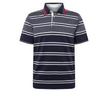 Poloshirt '8150' dunkelgrau / weiß
