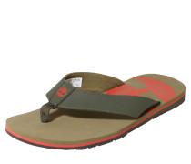 Sandale 'Wild Dunes' khaki / neonrot