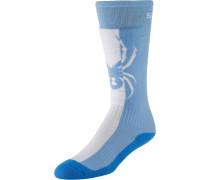 Skisocker 'Swerve' blau / hellblau