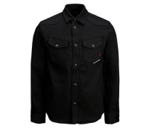 Overshirt schwarz