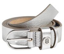 Gürtel 'classic Belt 2.5' silber