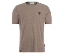 T-Shirt 'Italienischer Hengst' beige
