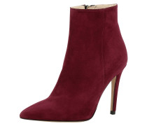 Stiefelette Alina rot / weinrot