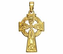 Kettenanhänger »Keltisches Kreuz« gold