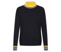 Pullover '22038' gelb / schwarz