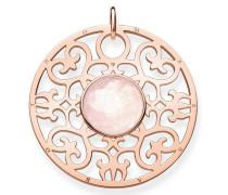 Kettenanhänger 'Rosa Ornament Pe763-536-9'