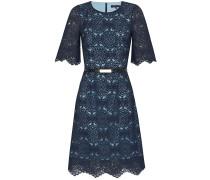 Kleid hellblau / dunkelblau
