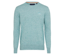 Pullover 'orange Crew' pastellblau
