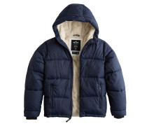 Jacke 'xm18-Fur Lined Puffer 3Cc' navy