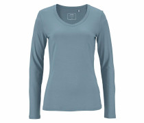 Longsleeve 'May' blau
