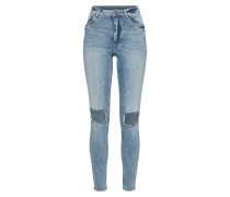 Skinny Jeans 'High Skin' blue denim