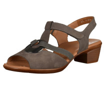 Sandalen mokka / dunkelgrau