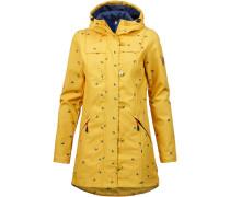 Mantel blau / gold