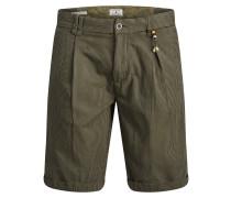 Shorts dunkelblau / oliv