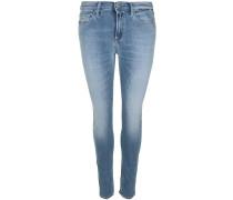 Jeans 'joi Ankle Zip' blau