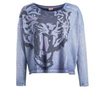 Shirt 'amadea' hellblau / dunkelblau