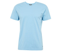T-Shirt 'RN Small Embro' hellblau