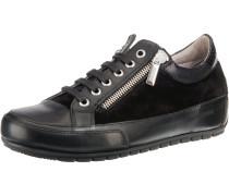 Rock Deluxe Zip Sneakers schwarz