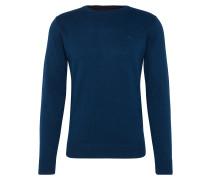 Pullover 'basic crew-neck sweater' navy
