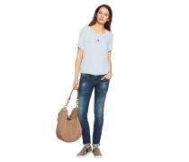 Skinny Jeans 'Molly' blau