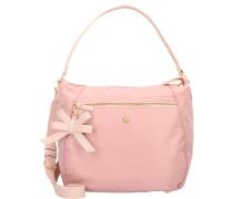 Schultertasche 'Hobo' 40 cm pink