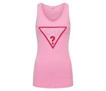 Tank-Top 'VN Original' pink / rot / weiß