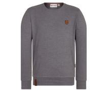 Sweatshirt 'Al K.Ohol' dunkelgrau