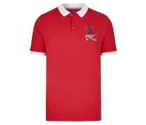 Polo rot / weiß