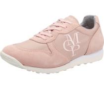 Sneaker Low rosé / weiß