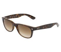 Sonnenbrille 'new Wayfarer' braun