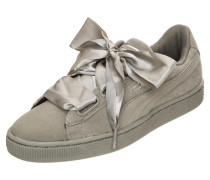 Sneaker 'Suede Heart Pebble' grau