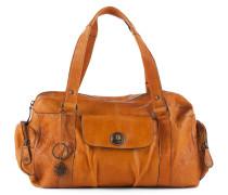 Kleine Bowling Bag 'Totally Royal' cognac