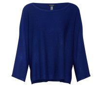 Poncho-Pullover saphir