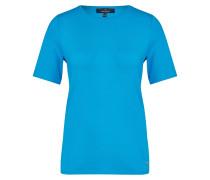 T-Shirt neonblau