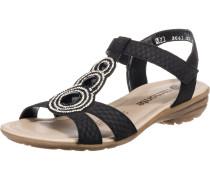 Sandale 'r3641' schwarz