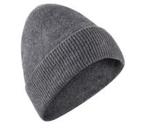 Kaschmirmütze grau