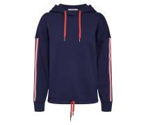 Sweatshirt navy / rot