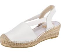 Sandale weiß