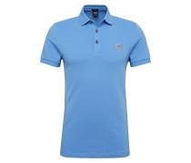 Poloshirt 'Passenger' himmelblau