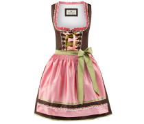 Dirndl 'Patty' braun / rosa
