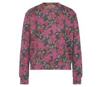 Sweatshirt 'kodemo' grau / pink