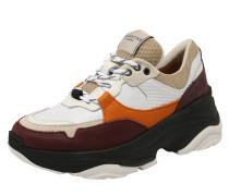 Sneaker 'Gavina' schoko / weiß