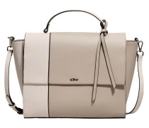 Shoulder Bag hellbraun / rosa
