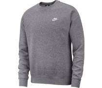 Sweater 'Sportswear Club' grau